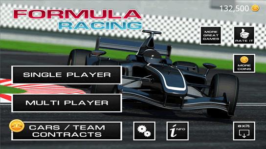 formula racing car games
