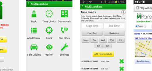 MMGuardian Tablet Security protects your children when using