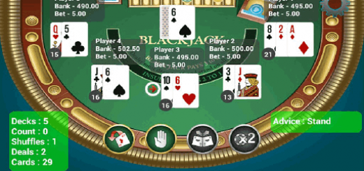 Count statistics that show up in BlackJack Trainer.