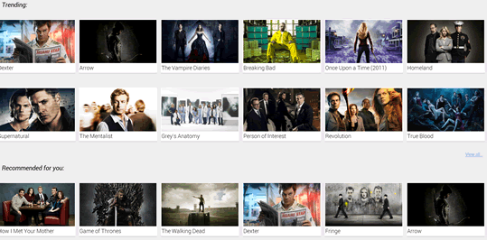 TV Series - explore other shows