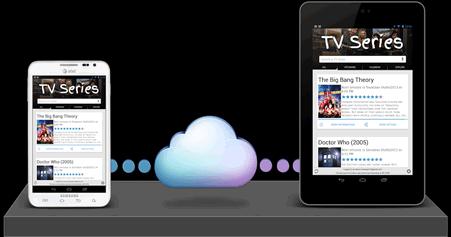 TV Series - cloud sync