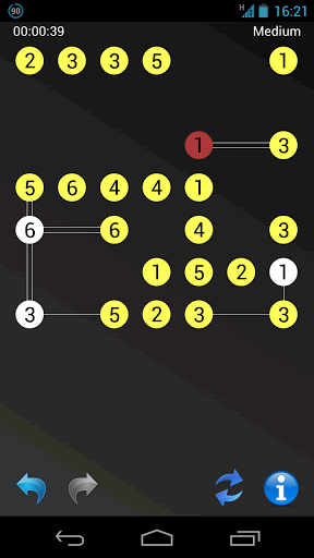 Color guides show when an island is ok (white), yellow (pending) or not ok (red).