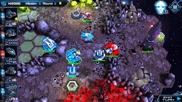 Second mission takes place on an asteroid in Cosmo Battles.