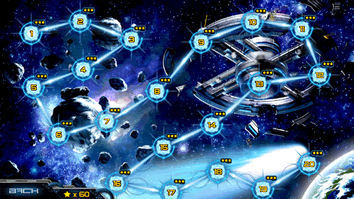 Over 20 missions are playable in Cosmo Battles