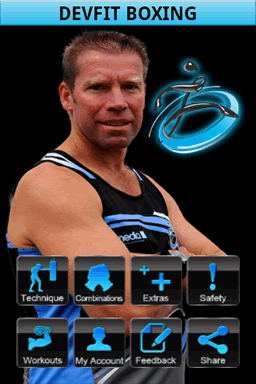 The main interface of DevFit, don't feel intimidated you can get like Andrew after some practice.