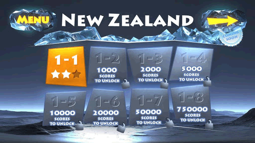8 levels to play in New Zealand.