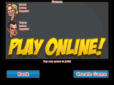 Play online against other real players