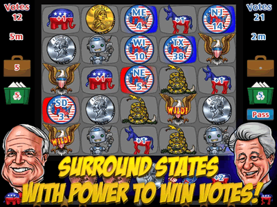 Win states with your power items.