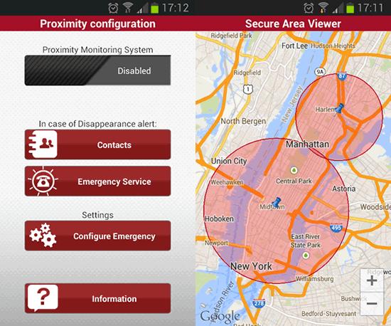 Enabling proximity monitoring