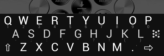 Post image of KeyZag, an intelligent zigzag layout keyboard for smartphones