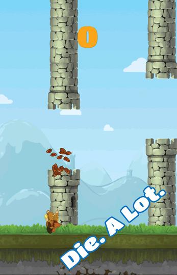 Flappy Owl crash