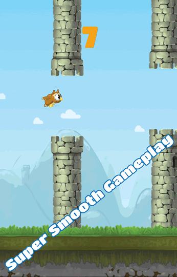Flappy Owl gameplay