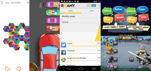 RoundAPP: Heroo, Jumping Car, Word Ninja, Roamy and Warriors 2