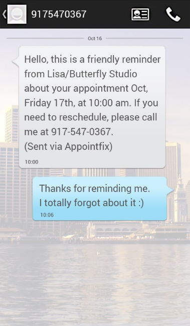 Appointfix The App That Reduces Missed Appointments Using