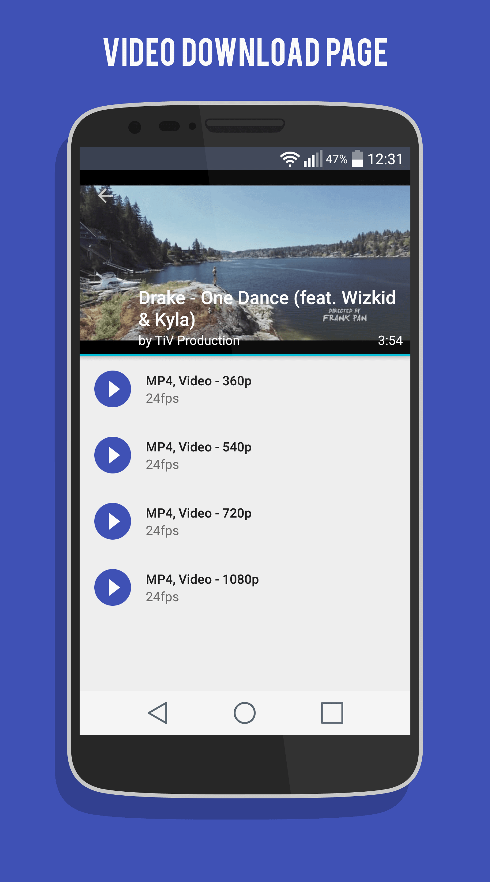 Avidd Youtube Dl Gui For Android With A Material Design Style